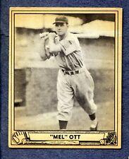1940 Play Ball #88 Mel Ott - N.Y. Giants  Ex/Mt