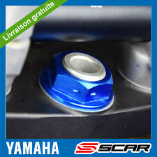 TOP ECROU COLONNE DIRECTION YAMAHA YZ 80 85 TTR TRICKER SEROW BLEU SCAR
