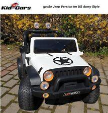 Kinderauto Jeep USArmy Style starke 45W Motoren Kinderfahrzeug Doppelsitzer SUV