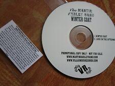 The Martin Harley Band – Winter Coat.  Villainous Records UK Promo CD Single