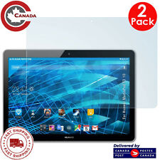 """[2 PACK] Huawei Mediapad T3 10 (9.6"""") Tablet HD Tempered Glass Screen Protectors"""
