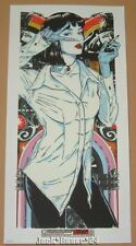 Rhys Cooper Mia Wallace Pulp Fiction Movie Poster Print Art Glow in the Dark