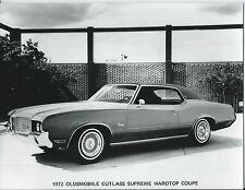 Oldsmobile Cutlass Supreme Hardtop Coupe 1972 Original Press Photograph