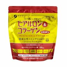 Fine Hyaluronic and Collagen powder with Coenzyme Q10, 210g/30days, Gold pack