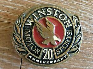 "1991 Winston Motorsports 20th Anniversary ""Champions"" Belt Buckle"