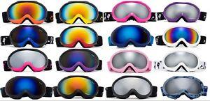 Professional Kids Snow Ski Goggles Anti-Fog Dual Lens  Snowboarding Girls Boys