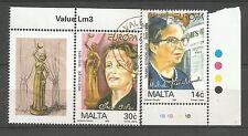 Cept / Europa       1996     Malta gest.