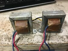 VINTAGE TUBE AMP OUTPUT TRANSFORMER PAIR 6BQ5 SE