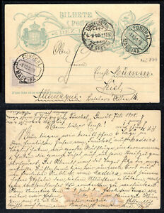 1908 Portugal Madeira Stationery from Funchal to Germany. W/ additional