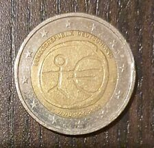 Moneta Rara 2 Euro Bundesrepublik Deutschland WWU 1999-2009/ Rare Coin - G