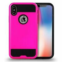 iPhone X (Ten) Armor Hybrid Case (Hot Pink)