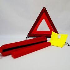 Kit triangle de signalisation + gilet de sécurité pour voiture fourgon auto