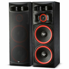 "Set of 2 XLS-215 500W Home Audio 3-Way Dual 15"" Floor Standing Tower Speakers"