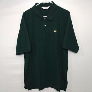 Brooks Brothers Golden Fleece Men's Polo Short Sleeve Shirt Size XL Green