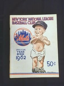 New York Mets Official Year Book 1962