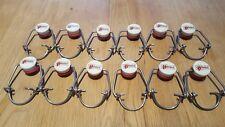 12pcs EZ Cap Flip Top Stopper Root Homebrew Beer Bottles Replacement Swing Caps