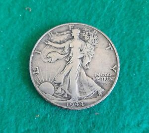1944 Silver Walking Liberty Half Dollar United States Coin