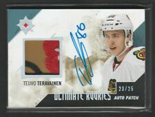 2014-15 Ultimate Collection Teuvo Teravainen 23/25 Rookie Auto Patch