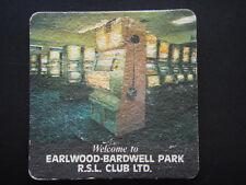 EARLWOOD-BARDWELL PARK RSL CLUB LTD CLUB INFORMATION COASTER