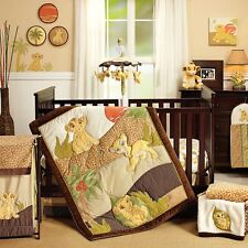 Lion King Simba's Wild Adventure 7 Piece Nursery Crib Bedding Set BRU Exclusive