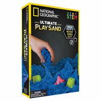 National Geographic Blue Kinetic Play Sand STEM Educational Activity for Kids
