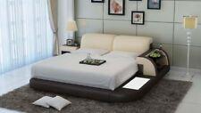 Bett Design Luxus Luxus Betten Leder Modernes Schlafzimmer 140/160/180 LB8812