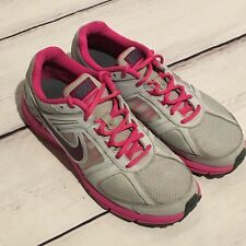 Womens Nike Air Relentless 3 Running Shoes size 8.5 EUC Gray Pink Athletic Nice!