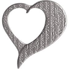 PAMP SUISSE FORS COLLECTION 4g PURE PALLADIUM LOVE CHARM PENDANT/BRACELET - NEW