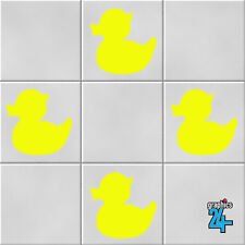 Rubber Ducks Vinyl Wall Tile Stickers Decals Bathroom Home Decor