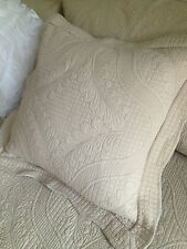 Linens N Things Shelbourne Taupe  French Provincial Cushion Cover
