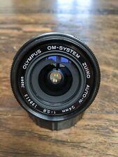 OLYMPUS OM AUTO-W 24MM F2.8