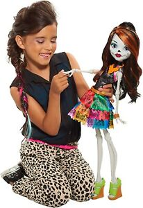 New Monster High Skelita Calaveras 28 in Gore-Geous Ghoul Beast Freaky Friend