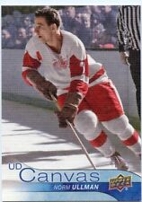 16/17 UPPER DECK CANVAS RETIRED STARS #C246 NORM ULLMAN RED WINGS *47140