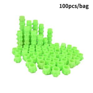 100PCS Honeycomb Tattoo Ink Cups Pigment Mixing Pots Disposable Ink HoldersM LB