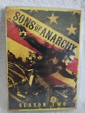Sons of Anarchy: Season Two 2 (DVD, 2010, 4-Disc Set) Widescreen New Sealed