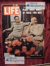 LIFE magazine January 14 1966 Jan 1/14/66 Vietnam GEMINI 6 7 NORMAN THOMAS