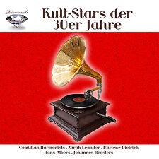 CD Kult Stars der 30er Jahre von Diverse Interpreten 5CDs mit Comedian Harmonist