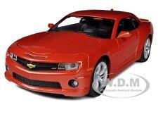 2010 CHEVROLET CAMARO RS SS ORANGE 1/24 DIECAST MODEL CAR BY MAISTO 31207