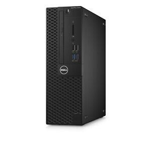 Dell OptiPlex 3050 SFF Core i5 7500 8GB RAM 128GB SSD Windows 10 Mini Tower PC
