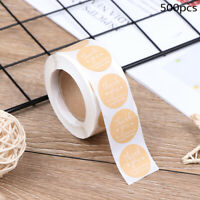 500pcs/roll Thank you for supporting my small business Stickers seal lab yx