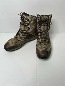 Cabela's Men's Full Draw Hunting Boots with 4MOST DRY - Camo Size 10.5M