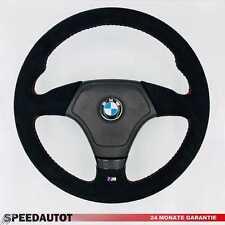 Lederlenkrad BMW E34, E36, E39, Z3. X5 mit Airbag und ALCANTARA