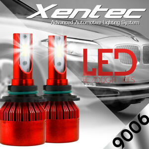2x High Power CREE LED Headlight Low Beam Light Bulbs 9006 8000K For CHEVROLET