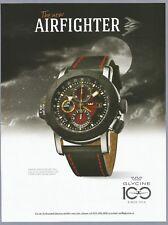 GLYCINE 100 Airman Airfighter Watch Print Ad