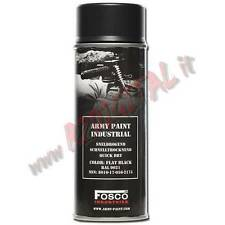 VERNICE ARMI FOSCO SPRAY FLAT BLACK 9021 NERO 400ML BOMBOLETTA SOFTAIR COLORI