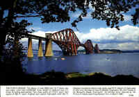 BRÜCKEN Motiv-AK The Forth Bridge Postcard Great Britain Postkarte Ansichtskarte