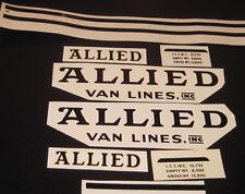 Tonka Allied Van line water slide decal