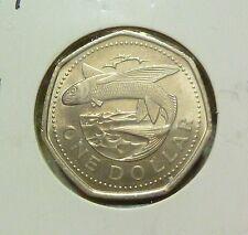 B218 - Barbados 1 Dollar Coins (1988) - UNC/BU