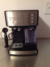 Mr. Coffee Cafe Barista Espresso and Cappuccino Maker Silver