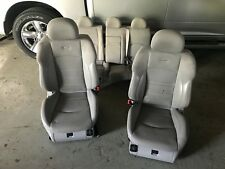 OEM MERCEDES BENZ W211 E63 E55 AMG SET SPORT LEATHER SUEDE SEATS SEAT GRAY